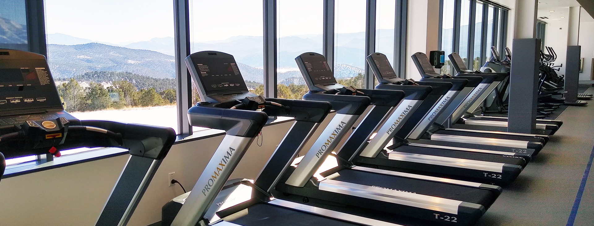 Cardio equipment at every capacity